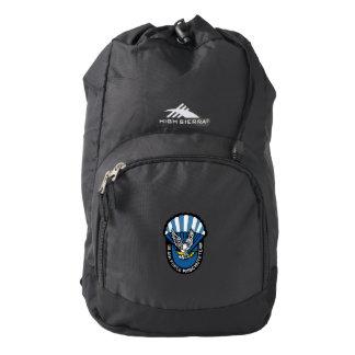 Alas de la mochila azul de High Sierra
