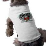 Alas de la salud mental camisa de perro