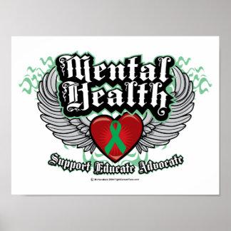 Alas de la salud mental posters