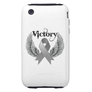 Alas de la victoria - cáncer de cerebro iPhone 3 tough coberturas