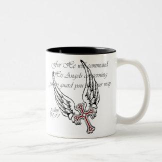 Alas de los ángeles taza de café