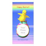 Alas de pollo grandes de Pascua Tarjeta Fotografica Personalizada