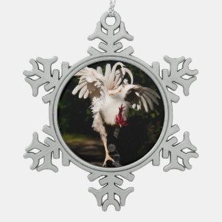 Alas del aleteo del gallo adornos