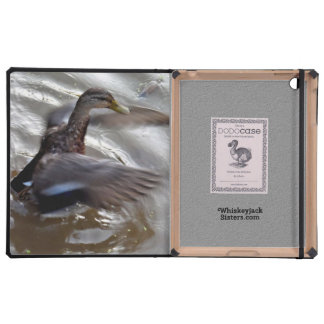 Alas del aleteo del pato del pato silvestre iPad protectores