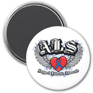 Alas del ALS Imán Redondo 7 Cm