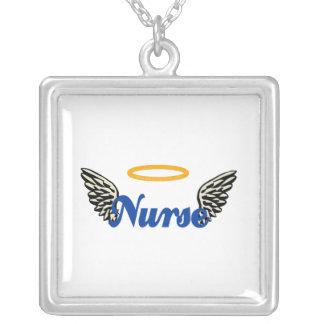Alas del ángel de la enfermera colgante cuadrado