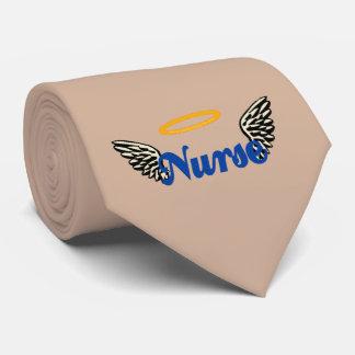 Alas del ángel de la enfermera corbata