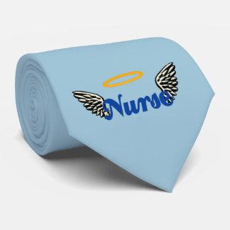 Alas del ángel de la enfermera corbatas