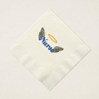 Alas del ángel de la enfermera servilletas desechables