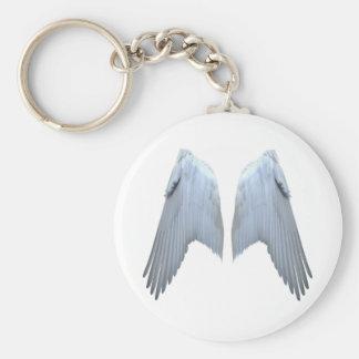 Alas del ángel llaveros personalizados