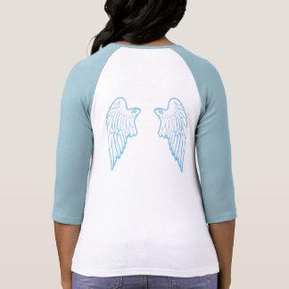 Alas del ángel camiseta