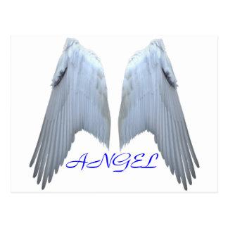 Alas del ángel postales