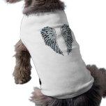 Alas del ángel ropa de mascota