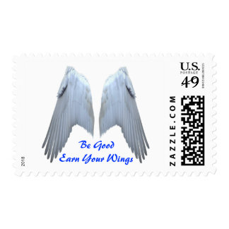Alas del ángel sello