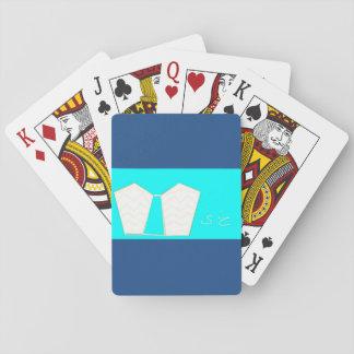 Alas del arcángel barajas de cartas