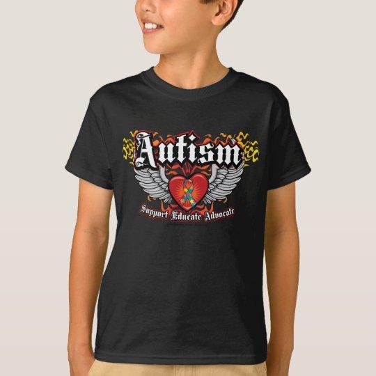 Alas del autismo playera