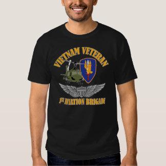 Alas del aviador del veterinario de Vietnam Poleras