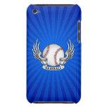 Alas del béisbol iPod Case-Mate carcasa