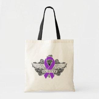 Alas del combatiente del cáncer pancreático bolsas