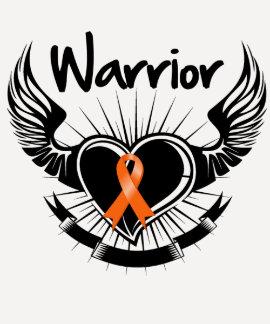 Alas del combatiente del guerrero de la leucemia playera