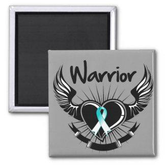Alas del combatiente del guerrero del cáncer de cu imanes
