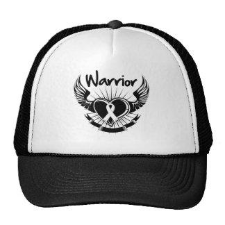 Alas del combatiente del guerrero del cáncer de pu gorras de camionero