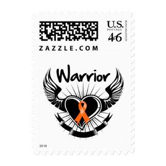 Alas del combatiente del guerrero del cáncer del r
