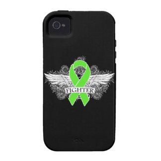 Alas del combatiente del linfoma de Non-Hodgkins Vibe iPhone 4 Carcasas