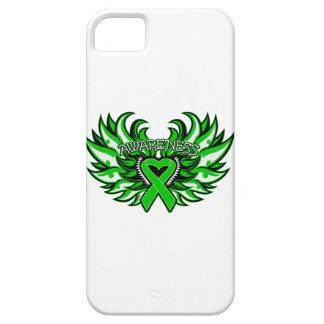 Alas del corazón de la conciencia de la enfermedad iPhone 5 carcasas