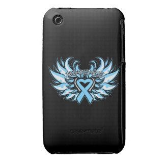 Alas del corazón de la conciencia de la enfermedad iPhone 3 Case-Mate cobertura