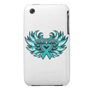 Alas del corazón de la conciencia de PKD iPhone 3 Case-Mate Cárcasa