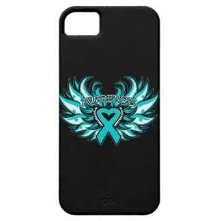 Alas del corazón de la conciencia de PKD iPhone 5 Carcasas