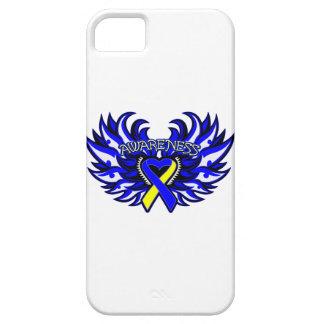 Alas del corazón de la conciencia de Síndrome de iPhone 5 Carcasa