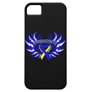 Alas del corazón de la conciencia de Síndrome de iPhone 5 Fundas