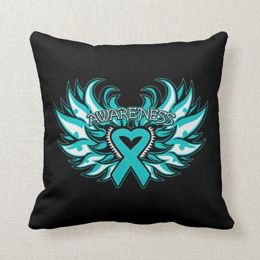 Alas del corazón de la conciencia del escleroderma almohada