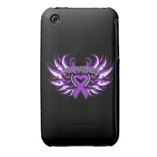 Alas del corazón de la conciencia del lupus iPhone 3 cárcasas