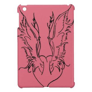 Alas del corazón del ángel iPad mini fundas