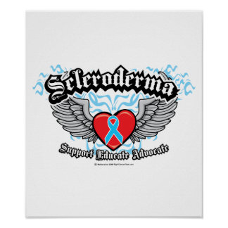 Alas del escleroderma posters