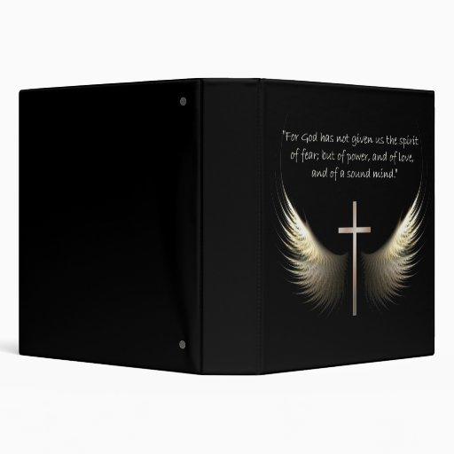 """Alas del Espíritu Santo con verso de la cruz y de Carpeta 1 1/2"""""""