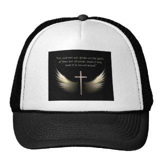 Alas del Espíritu Santo con verso de la cruz y de Gorros Bordados