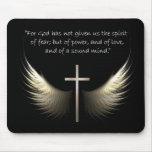 Alas del Espíritu Santo con verso de la cruz y de  Tapete De Raton