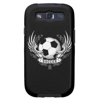 Alas del fútbol del fútbol samsung galaxy s3 cárcasas