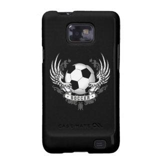 Alas del fútbol del fútbol samsung galaxy SII fundas