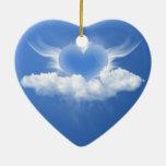 Alas del ornamento del corazón ornato