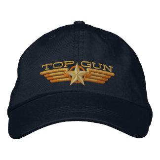Alas del piloto de la insignia de Top Gun Gorras De Beisbol Bordadas