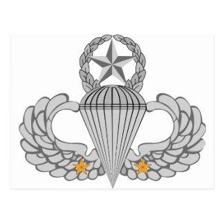Alas del salto del combate dos del ejército postal