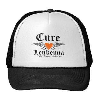 Alas del tatuaje de la leucemia de la curación gorros