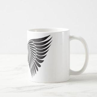 Alas del tatuaje taza de café