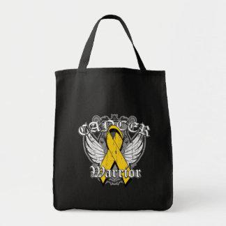 Alas del vintage del guerrero - cáncer de la niñez bolsa