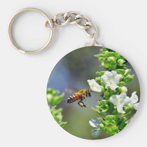 Alas del vuelo de Fying de las abejas Llaveros Personalizados